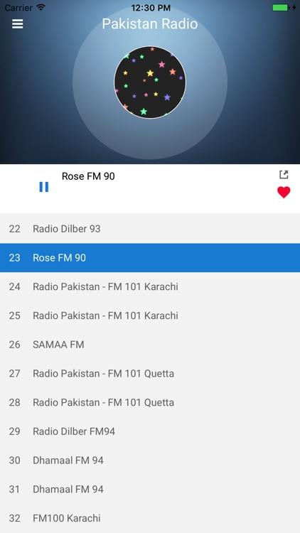 Pakistan Radio Station FM Live screenshot-4