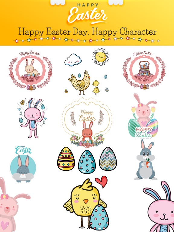 Happy Easter Day Stickers screenshot 6