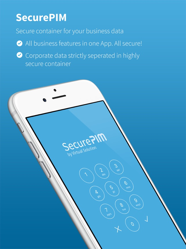 SecurePIM on the App Store SecurePIM