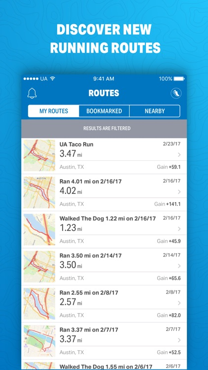 Map My Run by Under Armour screenshot-3