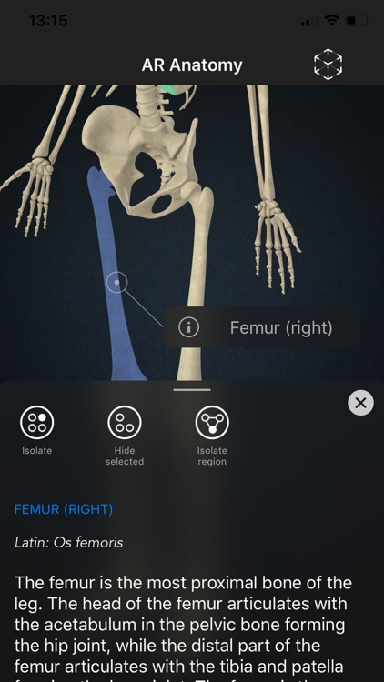 AR Anatomy: Skeleton screenshot-3