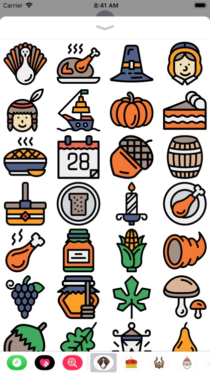 The Thanksgiving Sticker Pack