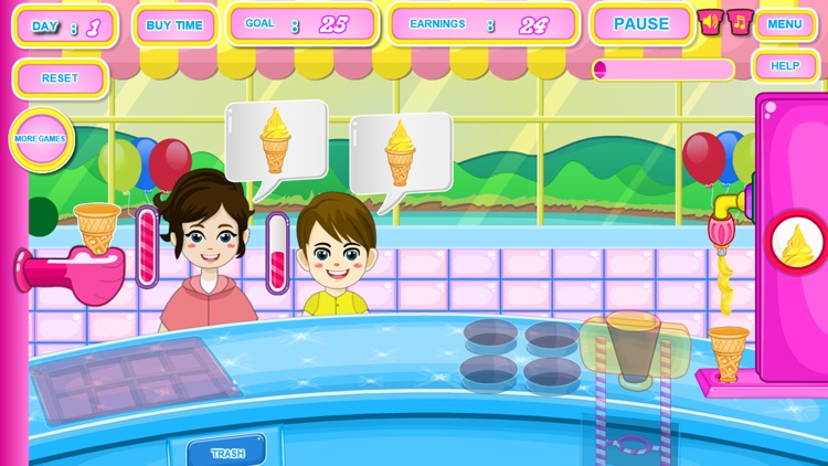 Ice Cream Cone Cupcake Cooking screenshot-5