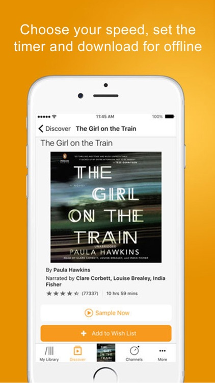 Audible audio books & podcasts screenshot-4