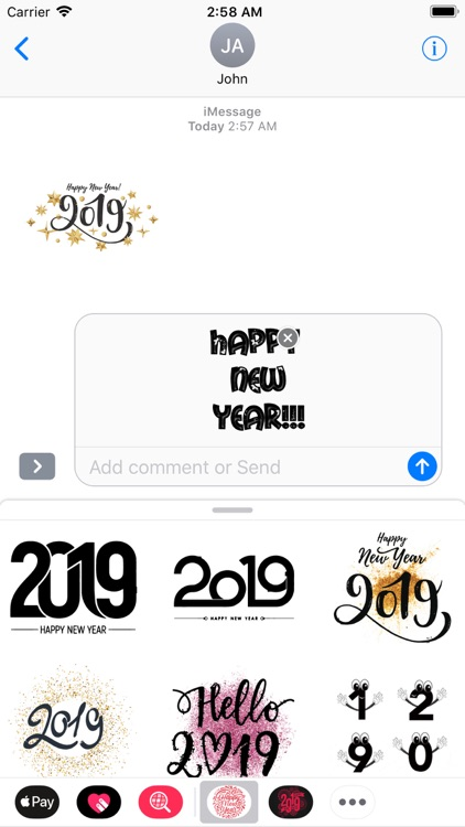 New Year Wishes Animated Pack