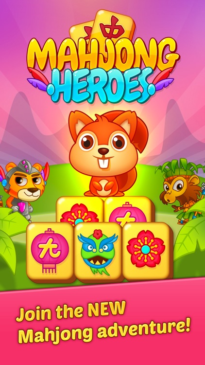 Mahjong Heroes Game screenshot-4