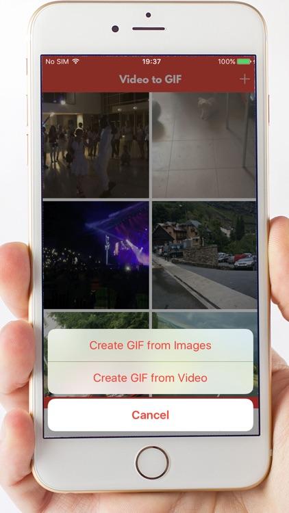 Video to GIF maker - Creator