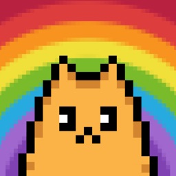 Pixel Cat - Color by Number