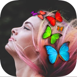 Butterfly Crown Photo Filters
