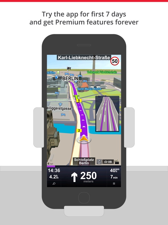 Screenshot #3 for Car Navigation: GPS & Maps