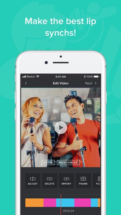 Collab - Music Video Editor screenshot-3