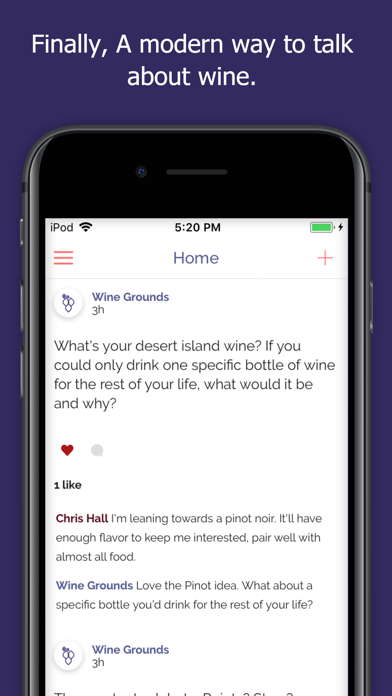 Wine Grounds screenshot one