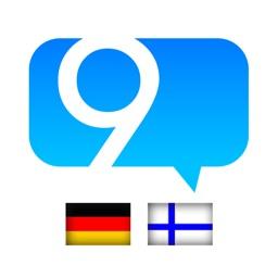 9 Min Finnisch Wörterbuch