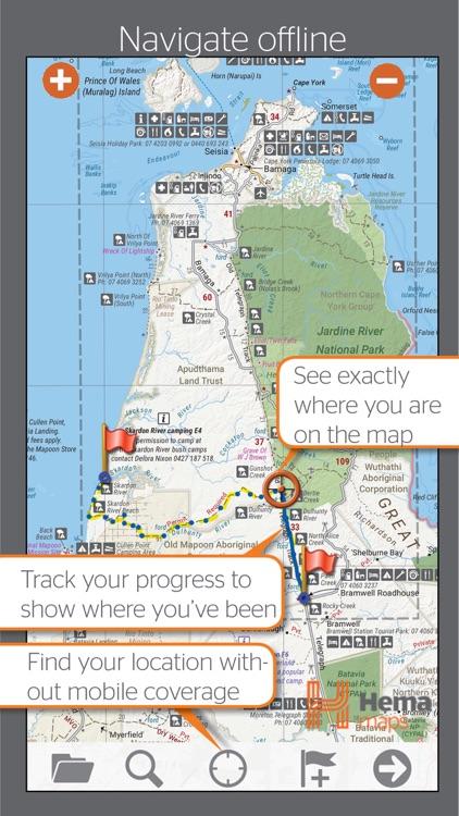 4WD Maps | Hema Australia Offline Topo Maps