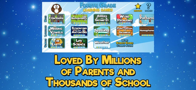 Fourth Grade Learning Games On The App Store