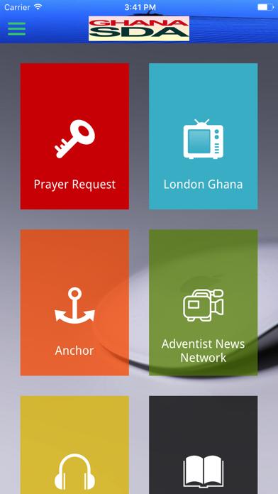 GhanaSDA screenshot three
