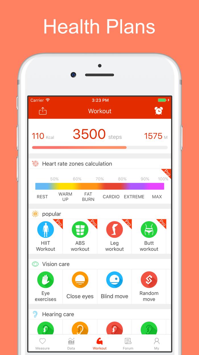 iCare Health Monitor Screenshot