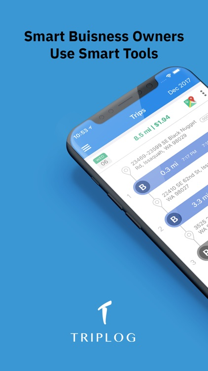 Gps Mileage Tracker App Iphone