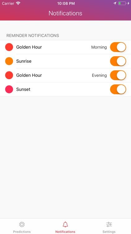 Alpenglow: Sunset Weather