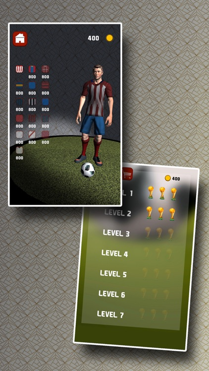 Free kicks 3D football game screenshot-3