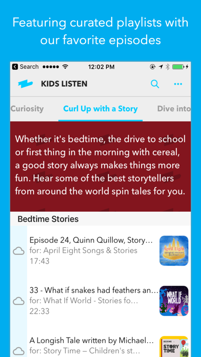 Kids Listen: Podcasts for kids screenshot two