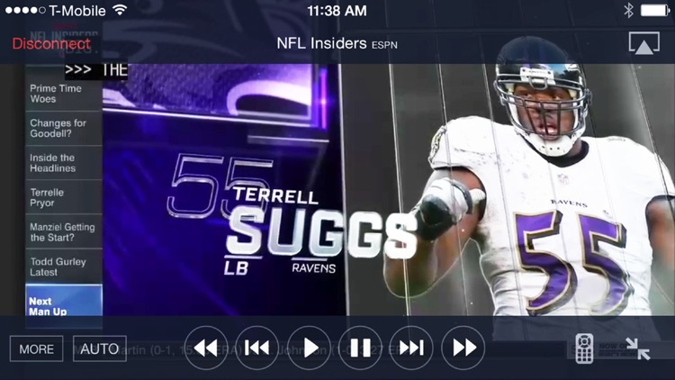 SlingPlayer for iPhone screenshot-2