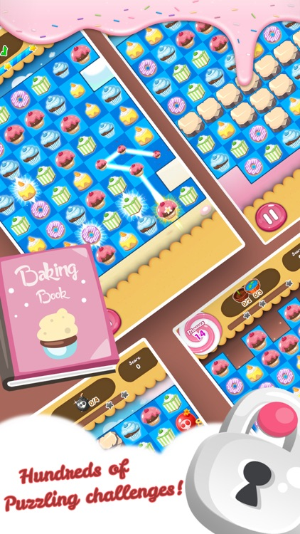 Cake Blast - Match 3 Games screenshot-1