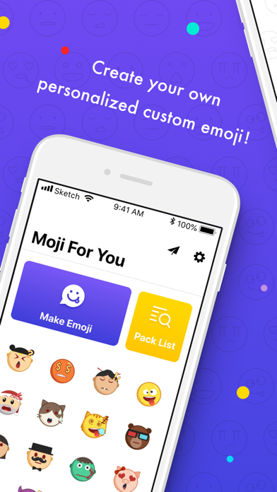 Umoji-Moji for you screenshot one