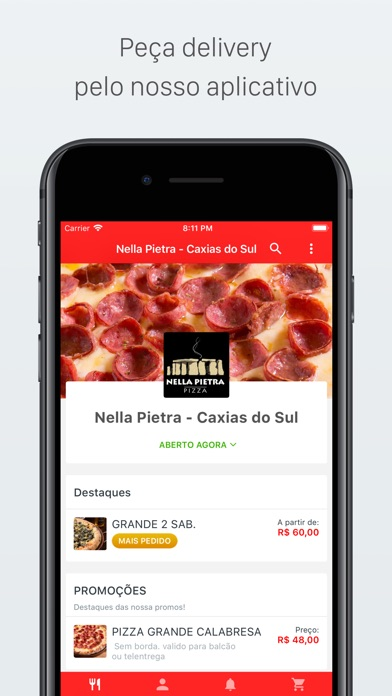 Screenshot for Nella Pietra Delivery in Viet Nam App Store
