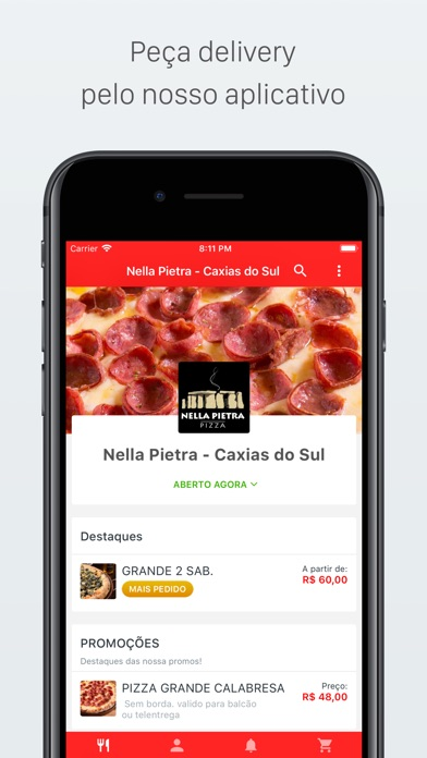 Screenshot for Nella Pietra Delivery in Spain App Store