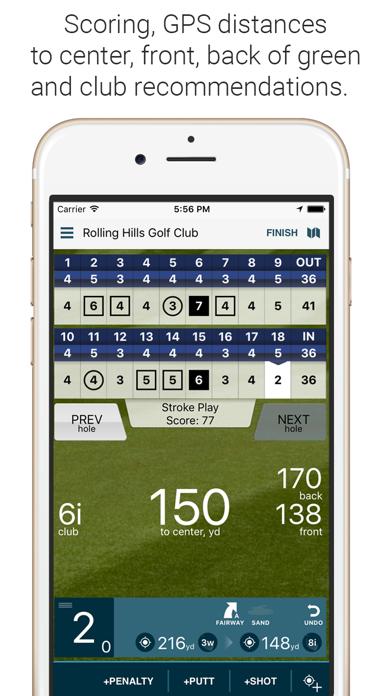 Golf Pad: Free Golf GPS Screenshot