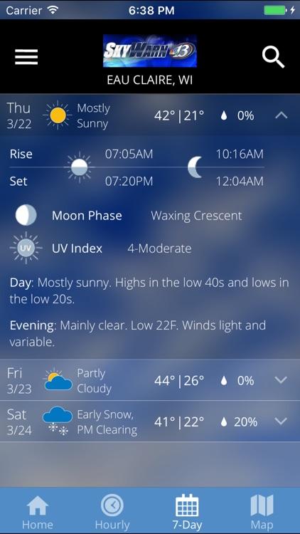 SkyWarn 13 Weather screenshot-3