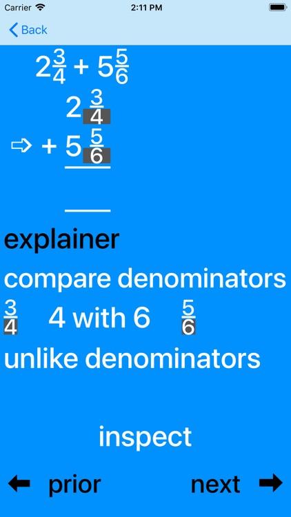 BasicFrac Fractions screenshot-3