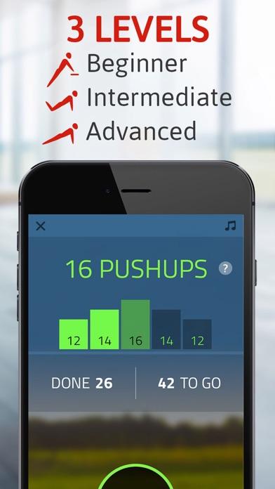 Push ups: 100 pushups pro Screenshots