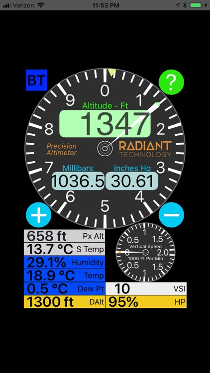 Precision Altimeter screenshot-2