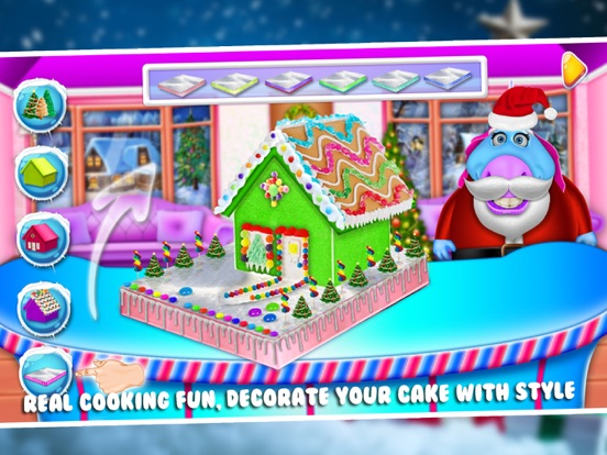 Fat Unicorn's Christmas Cake screenshot 8