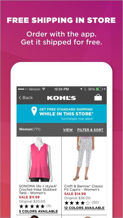 Kohl's: Scan, Shop, Pay & Save screenshot-4