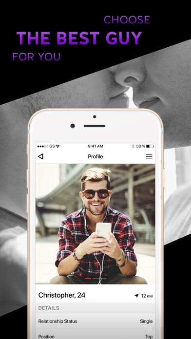 Gay Dating & Chat App - Target-1