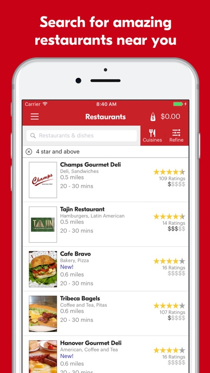 Seamless – Food Delivery & Takeout Service screenshot-0