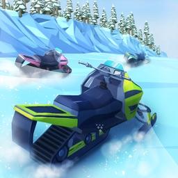 Flippy Snowmobile Race