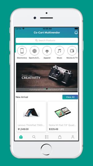 Webkul Mobile App