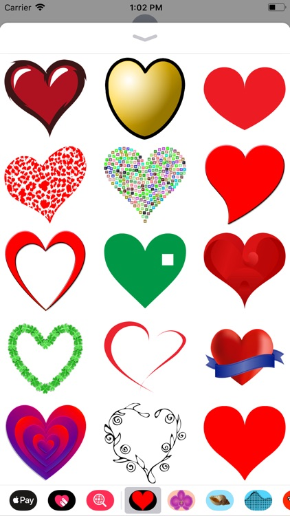 Only Heart Stickers screenshot-3