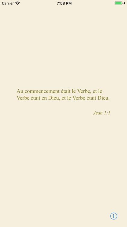 La Sainte Bible screenshot-3