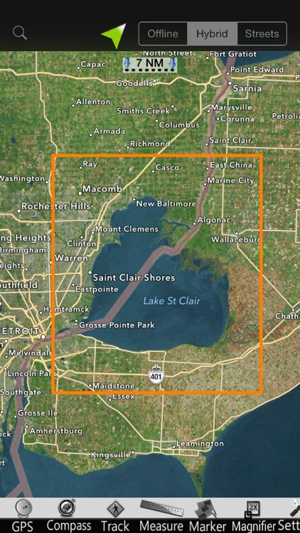 St. Clair GPS Nautical Charts screenshot-4