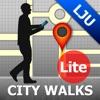 Ljubljana Map and Walks