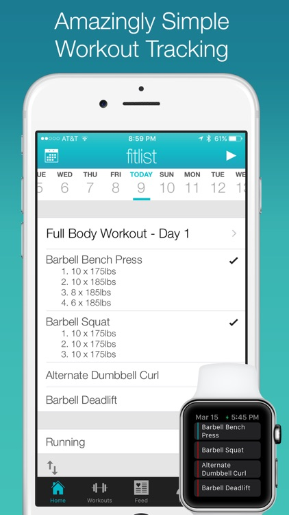Fitlist - Gym Workout Log