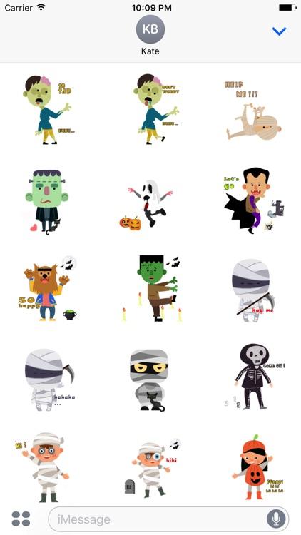 Halloween Character animated 2