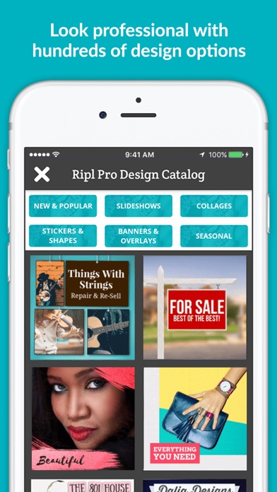 Ripl – Social Media Marketing app image
