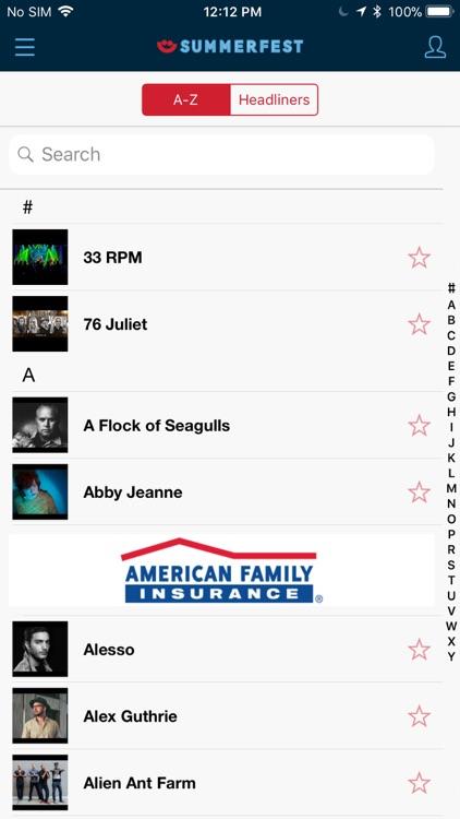 Official Summerfest 2018 App screenshot-3