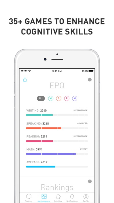 Elevate - Brain Training app image